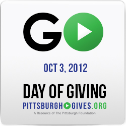 Visit pittsburghgives.org on October 3, 2012